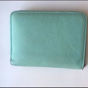 Tiffany blue wallet